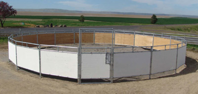 Cow Cutter Round Pen