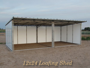 l2 by 24 Loafing Shed